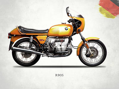 The Bmw R90s 1974 Poster by Mark Rogan