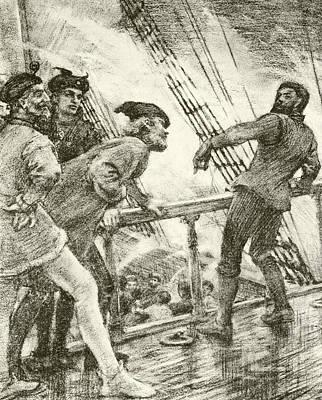 The Boatswain Poster by Henry Scott Tuke