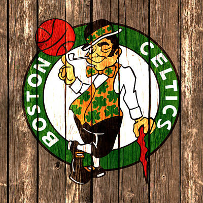 The Boston Celtics 2a Poster by Brian Reaves