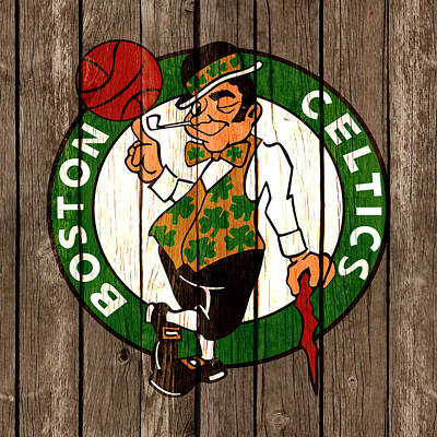 The Boston Celtics 2b Poster by Brian Reaves