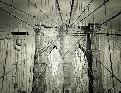 The Brooklyn Bridge Poster by Vivienne Gucwa