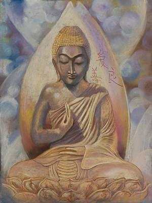 The Buddah Poster by Pamela Mccabe