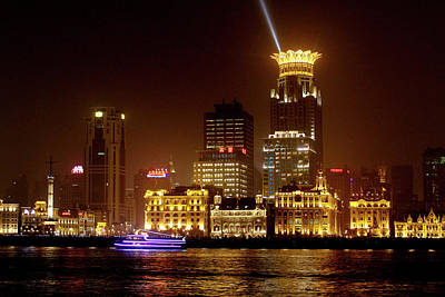 The Bund - Shanghai's Magnificent Historic Waterfront Poster by Christine Till