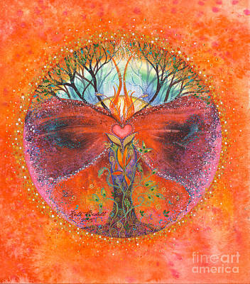 The Butterfly Tree Poster by Kate Bedell