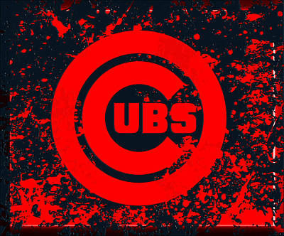 The Chicago Cubs 1c Poster by Brian Reaves