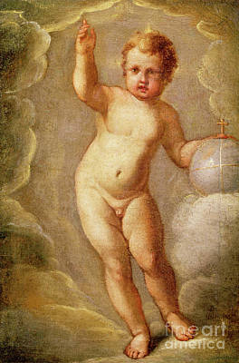 The Christ Child, Savior Of The Earth Poster by El Greco