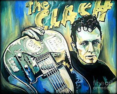 The Clash Joe Strummer Poster by Amy Belonio