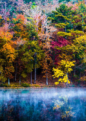 The Colors Of Autumn Poster by Parker Cunningham