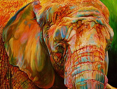 The Colours Of Africa Poster by Kelly McNeil