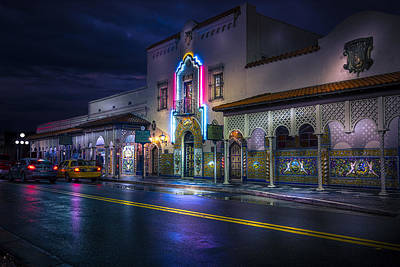 The Columbia Of Ybor Poster by Marvin Spates