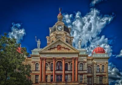The Coryell County Courthouse Poster by Mountain Dreams