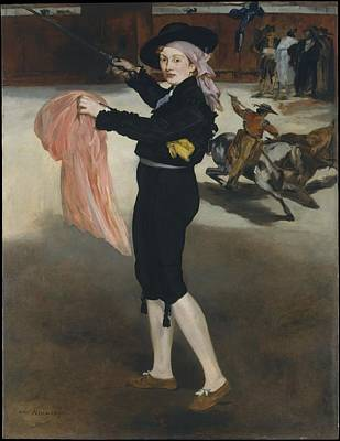 The Costume Of An Espada Poster by Edouard Manet