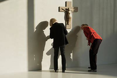 The Crucifix Poster by Tarek Charara