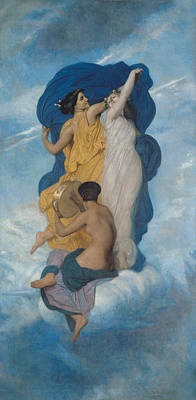 The Dance Poster by William-Adolphe Bouguereau