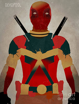 The Deadpool Poster by Bri B
