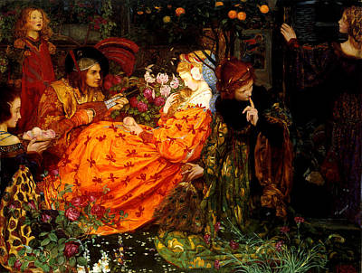 The Deceitfulness Of Riches Poster by Eleanor Fortescue-Brickdale