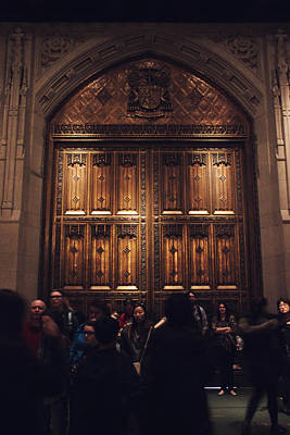The Doors Of St. Patrick's Cathedral Poster by Jessica Jenney