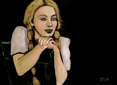 The Dreamer Poster by Karen Zima