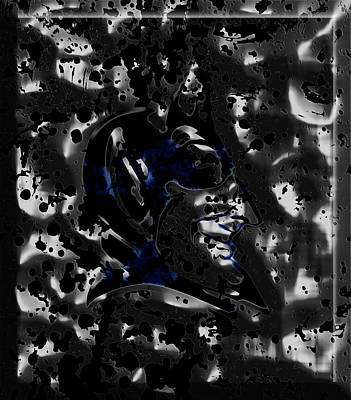 The Duke Blue Devils 1b Poster by Brian Reaves