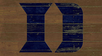 The Duke Blue Devils W1 Poster by Brian Reaves
