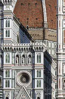 The Duomo Detail Poster by John Greim
