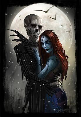 The Embrace V1 Poster by Alex Ruiz