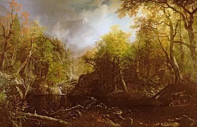 The Emerald Pool Poster by Albert Bierstadt