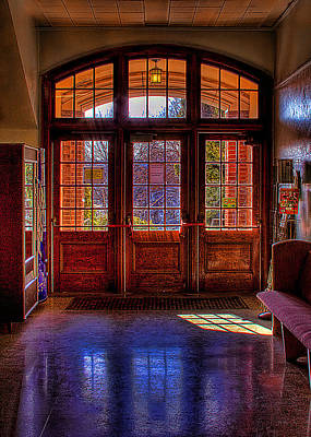 The Entryway Poster by David Patterson