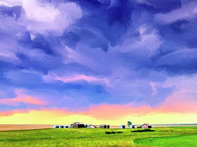 The Farm Poster by Dominic Piperata