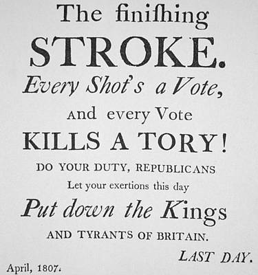 The Finishing Stroke Poster by American School