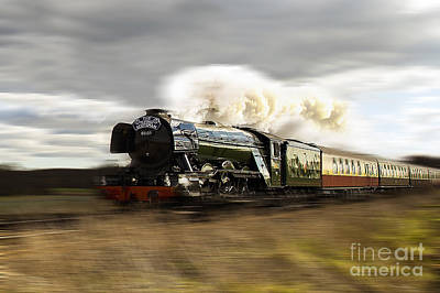 The Flying Scotsman Poster by J Biggadike