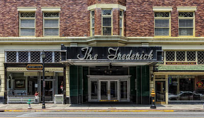 The Frederick Building - Huntington West Virginia Poster by Mountain Dreams