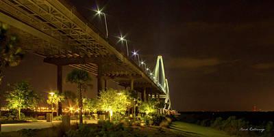 The Gateway Charleston Harbor Arthur Ravenel Jr Bridge Poster by Reid Callaway