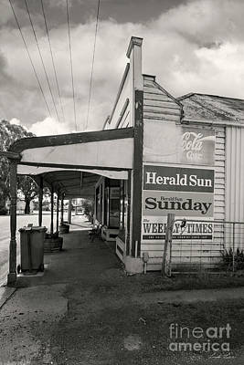 The General Store Poster by Linda Lees