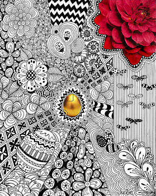 The Golden Egg Poster by Julie Erin Designs