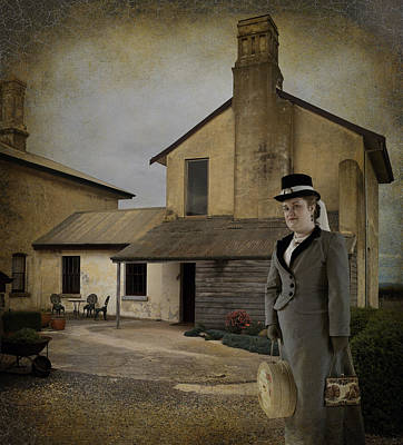 The Governess Poster by Mel Brackstone