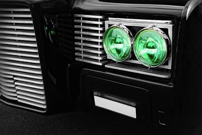 The Green Hornet Black Beauty Clone Car Poster by Gordon Dean II