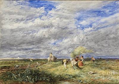 The Hayfield  Poster by David Cox