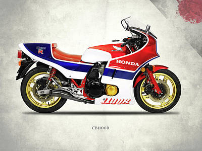The Cb1100r Poster by Mark Rogan