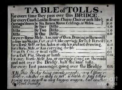 The Ironbridge Tolls Poster by Adrian Evans