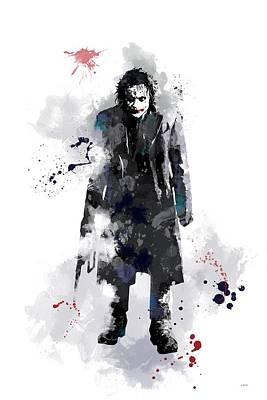 The Joker Poster by Marlene Watson