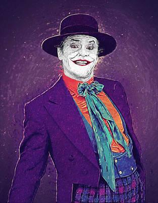 The Joker Poster by Taylan Soyturk