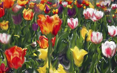 The Joy Of Spring Poster by Margarita Buslaeva