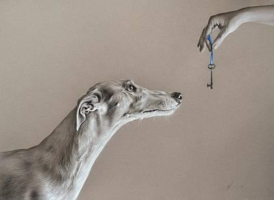 The Key Of Sincerity Poster by Elena Kolotusha