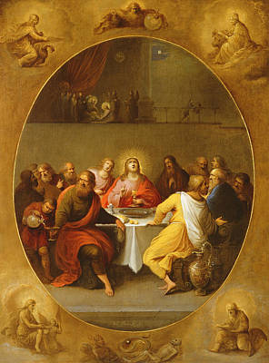 The Last Supper Poster by Frans Francken