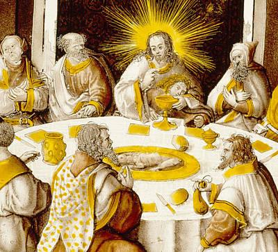The Last Supper Poster by Jacob Cornelisz van Oostsanen