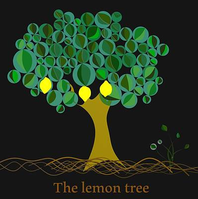 The Lemon Tree Poster by Alberto RuiZ