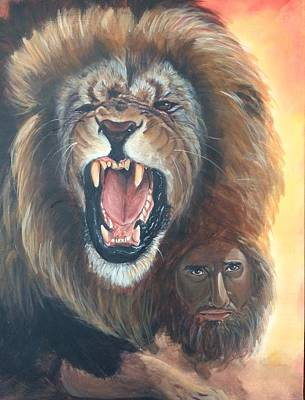 The Lion Of Judah Poster by Darlene Pyle