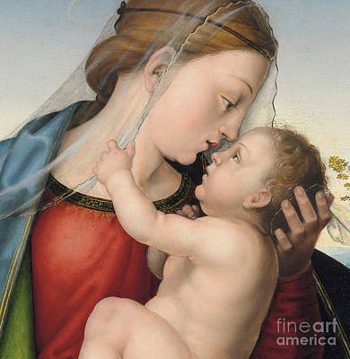 The Madonna And Child Poster by Fra Bartolommeo