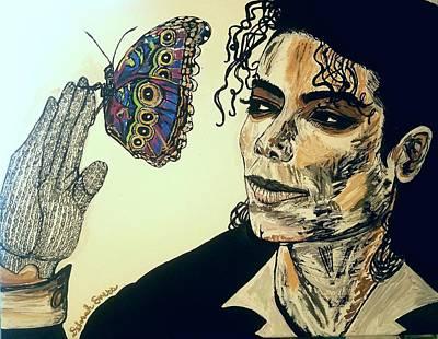 The Magic Of Michael Poster by Deborah Evers